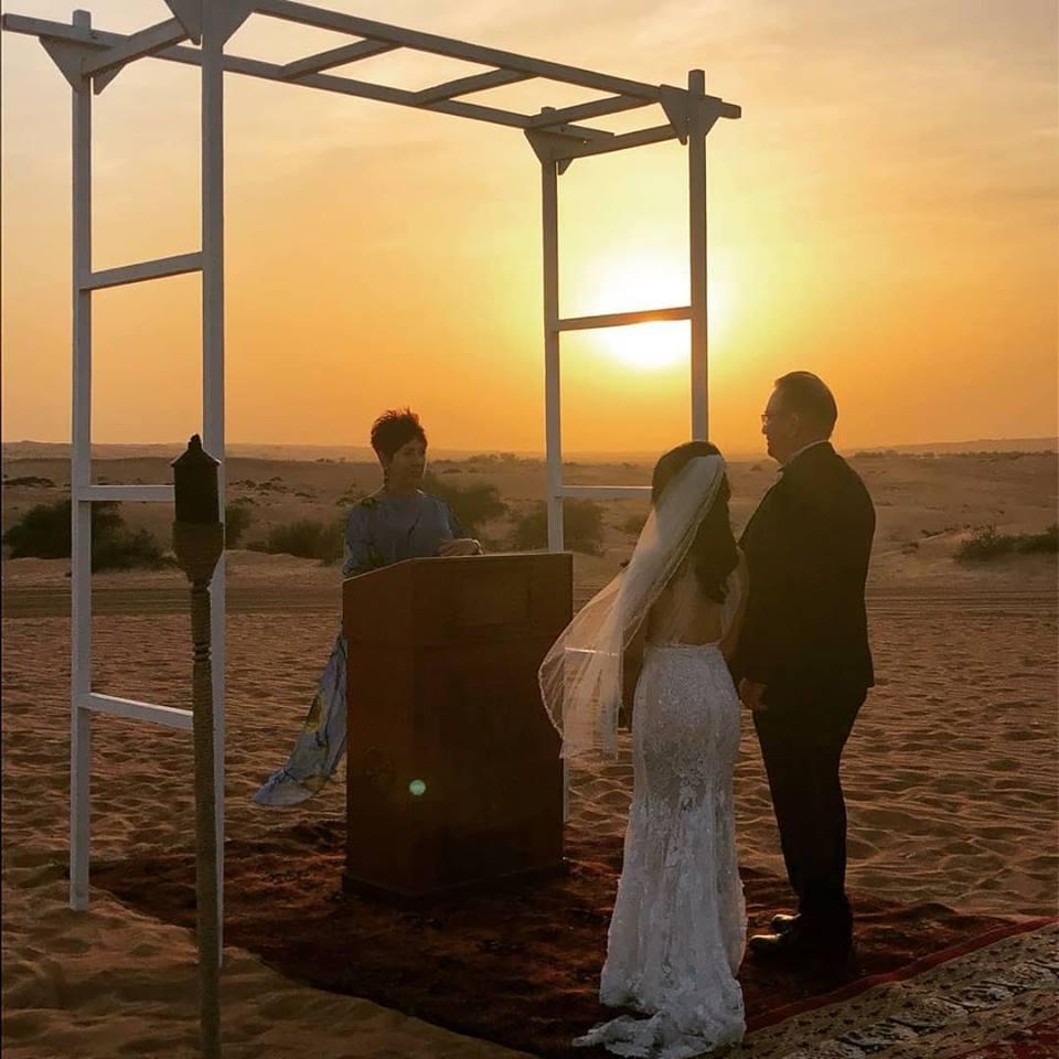 Al Maha Hotel Dubai Vow Renewal