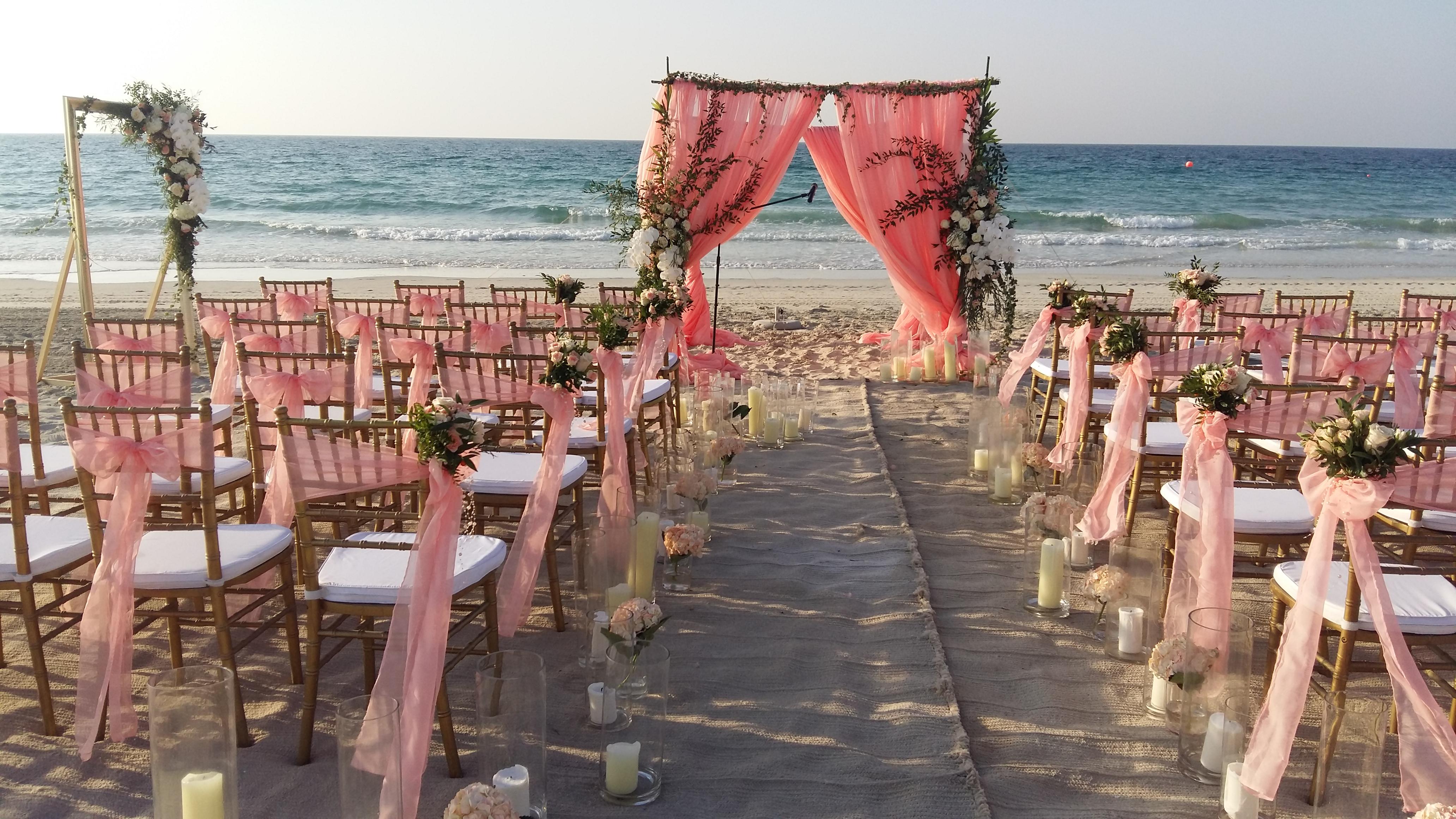 Beach Wedding Saadiyat Island